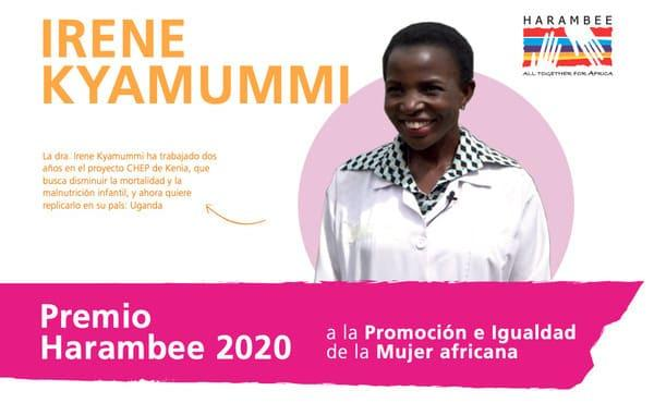 Desayuno informativo con la doctora Irene Kyamummi, Premio Harambee 2020 a la Promoción e Igualdad de la Mujer Africana