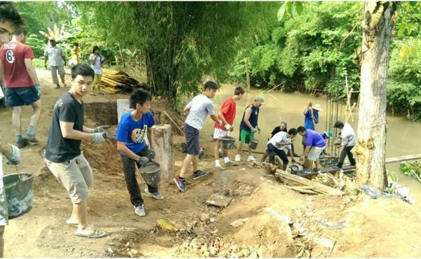 越南湄公河三角洲志工團