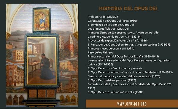 Opus Dei - Historia del Opus Dei