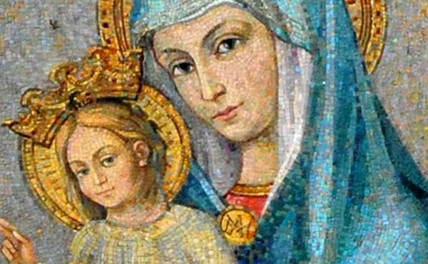 關於榮福童貞瑪利亞,教會之母