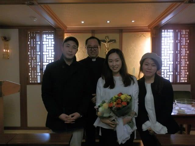 Opus Dei - 이현민 스텔라 자매의 세례