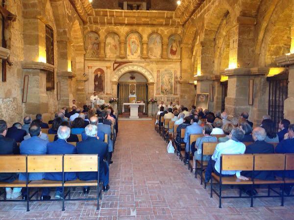 Il cardinale Francesco Montenegro celebra per san Josemaría