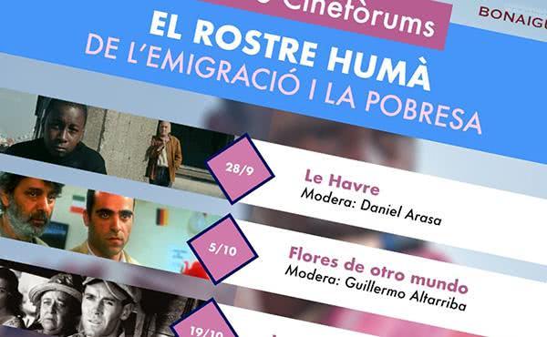 Cinefòrums a Santa Maria de Bonaigua sobre immigració i pobresa