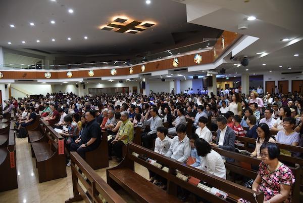 Opus Dei - Anniversary Mass of St Josemaria in Singapore