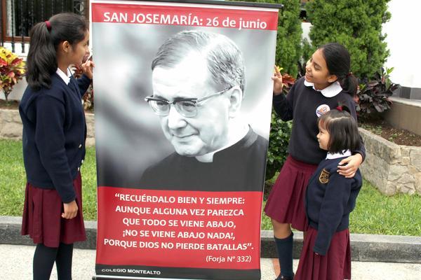 Colegio Montealto: para querer a San Josemaría, ¡hay que conocerlo!