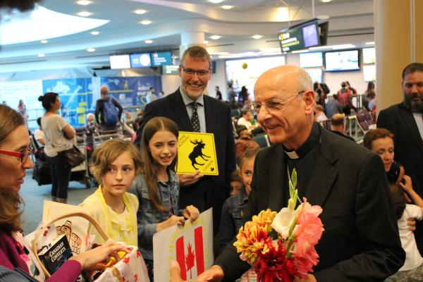 The Prelate's arrival in Vancouver