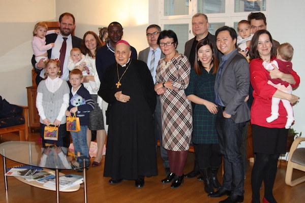Opus Dei - Yhteenveto Opus Dein piispan matkasta Suomeen
