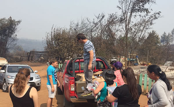 Opus Dei - Chile: una gota de agua en medio de la catástrofe