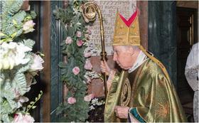 إختتام سنة يوبيل الرحمة في بازيليك القديسة مريم سيدة السلام