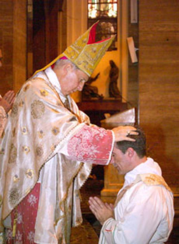 Entrevista ao novo sacerdote português