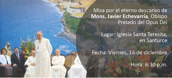 Opus Dei - Misa en San Juan por el prelado del Opus Dei