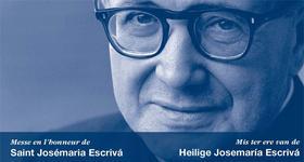 Missen ter ere van de heilige Josemaría in België