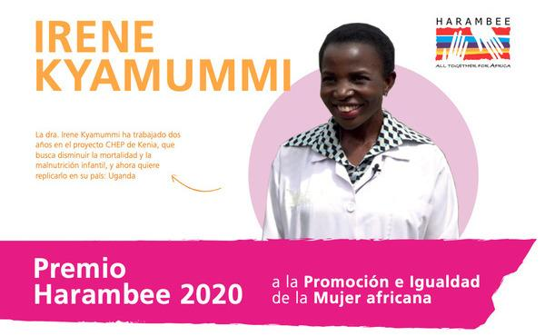 Opus Dei - Desayuno informativo con la doctora Irene Kyamummi, Premio Harambee 2020 a la Promoción e Igualdad de la Mujer Africana