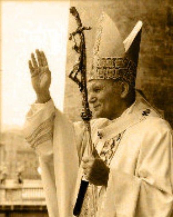 2005年、ヨハネ・パウロ二世の四旬節メッセージ「老齢に達することは、いと高きかたの恵みあふれる慈しみのしるしです」。