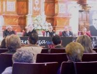 Una de las tres sesiones en que se dividió el simposio.