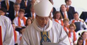 Le parole del prelato, mons. Echevarría, a conclusione della beatificazione