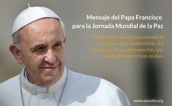 Opus Dei - La cultura del cuidado como camino de paz