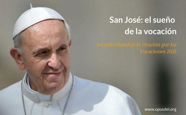 Las tres palabras de san José sobre la vocación