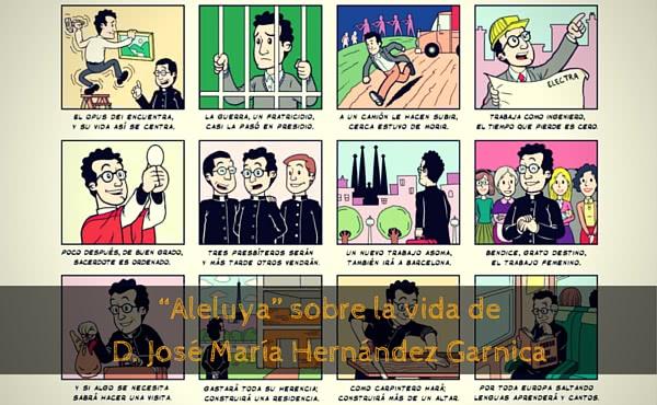 Opus Dei - Una vida ejemplar en 24 viñetas