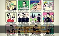Una vida ejemplar en 24 viñetas