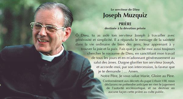 Opus Dei - Prier par l'intercession de José Luis Muzquiz