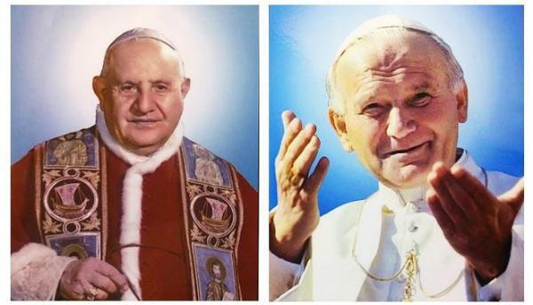 Juan XXIII y Juan Pablo II: dos Papas santos, dos santos marianos
