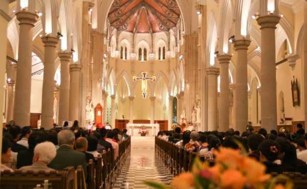 Opus Dei - 在2017年的敬禮聖施禮畢感恩祭