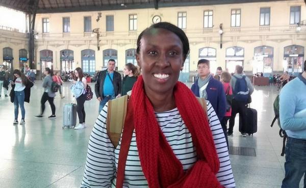 Opus Dei - Antoinette Kankindi, Premio Harambee 2017, defiende en Valladolid el valor de la mujer