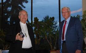 Kardinal Cordes stand in Berlin Rede und Antwort zu seinem neuen Buch