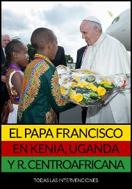 Libro electrónico: El Papa Francisco en Kenia, Uganda y República Centroafricana