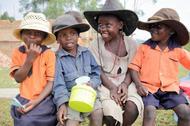 Drei Klassenzimmer statt einer Holzbaracke: neue Schule in Kimbo, Uganda