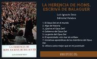 La herencia de Mons. Escrivá de Balaguer