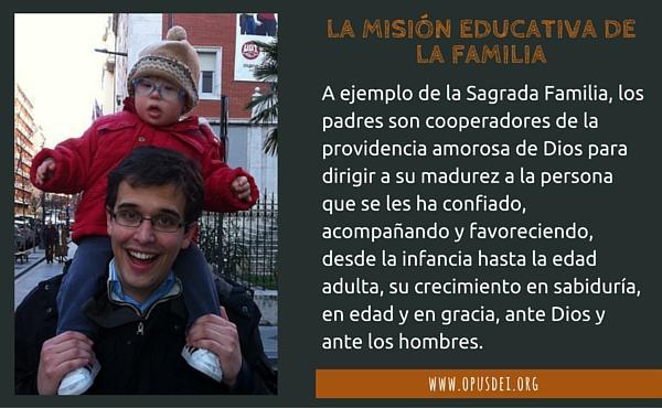 La misión educativa de la familia (I)