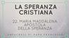 22. Maria Maddalena Apostola della Speranza