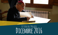 Lettera del prelato (dicembre 2016)