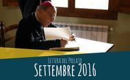 Lettera del prelato (settembre 2016)