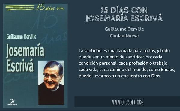Orar 15 días con Josemaría Escrivá