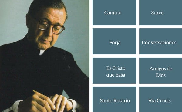 Opus Dei - Los libros de Josemaría Escrivá, disponibles en internet