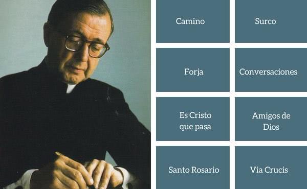 Los libros de Josemaría Escrivá, disponibles en internet
