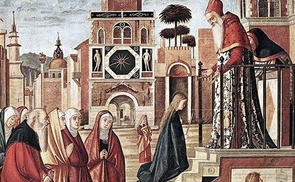 玛利亚的一生(三):献圣母于圣殿