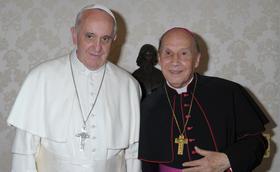 A Pápa kihallgatáson fogadta a Prelátust