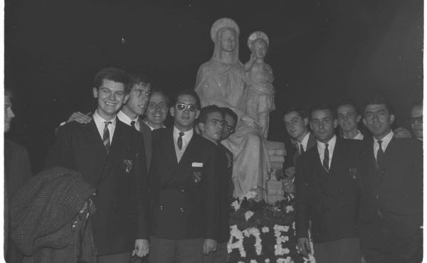 50 años de la bendición de la Virgen del campus de la Universidad de Navarra