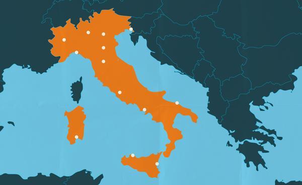 Dove sono i centri dell'Opus Dei in Italia