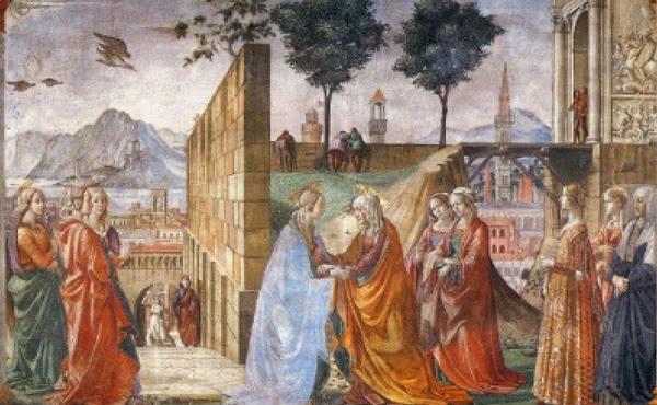 Opus Dei - Marias liv (VI): Marias besök hos Elisabet
