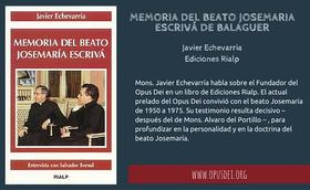 Memoria del Beato Josemaria Escrivá de Balaguer