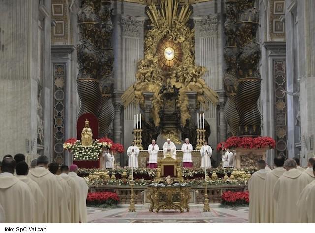Opus Dei - Novoročná homília pápeža Františka: Údiv viery pred Božou Matkou