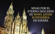 Misas en España por el prelado del Opus Dei