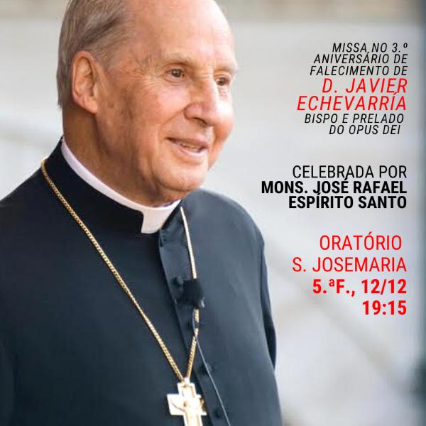 Missa em Lisboa no terceiro aniversário da morte de D. Javier
