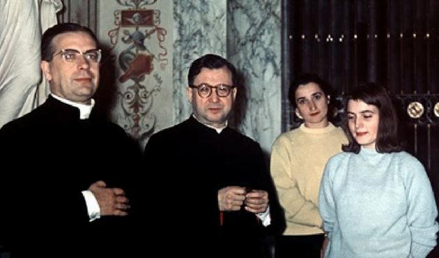 Opus Dei - Montse Grases e san Josemaría