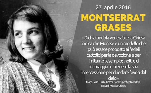 Montse Grases è dichiarata venerabile